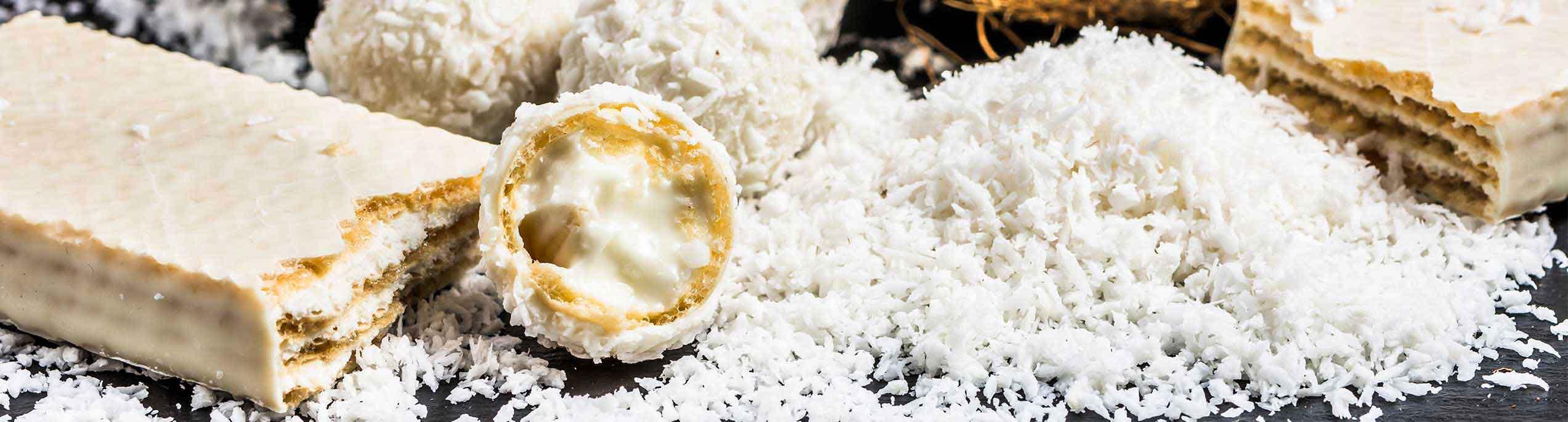 Sternchemie – Kokosnussmilchpulver: köstliche und cremige Waffelfüllungen